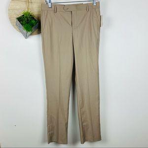 Isaac Mizrahi Khaki Boys Dress Pants size 16 New with Tags